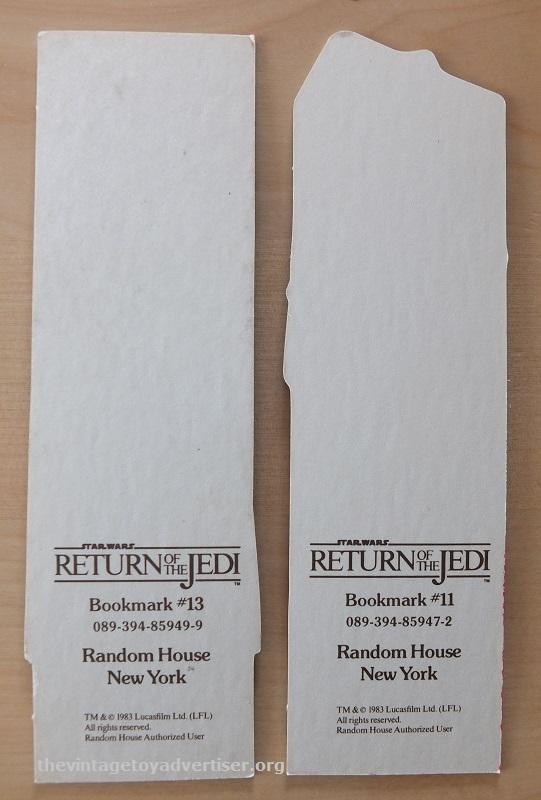 ROTJ Bookmark set 16. Random House. 1983 006