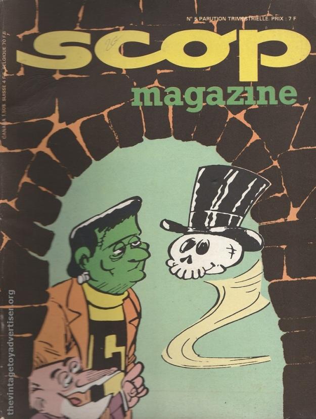 France. Scop #5. 1977.