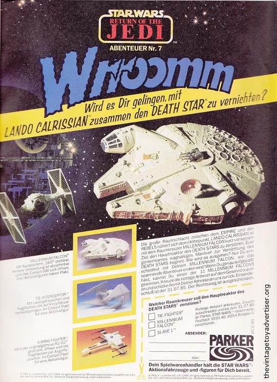 Germany. Star Wars #2. 1985.