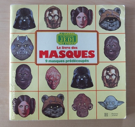 Hachette Jeunesse Le Livre des Masques Return of the Jedi, France