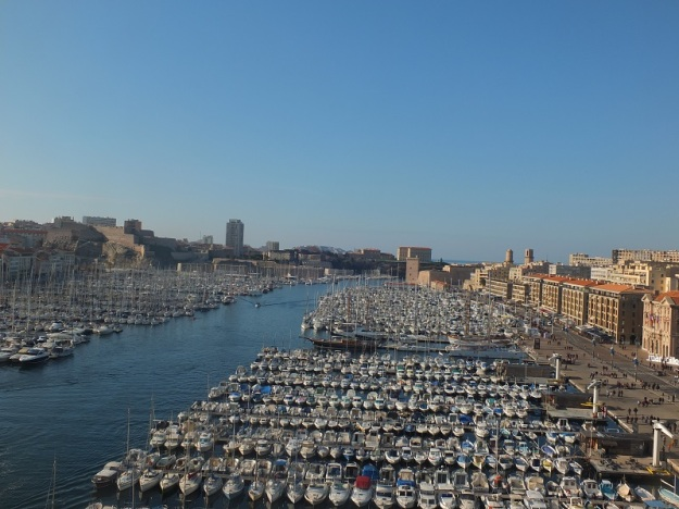 Vieux Port, Marseille, France. A funny thing happened on the way to Marseille...