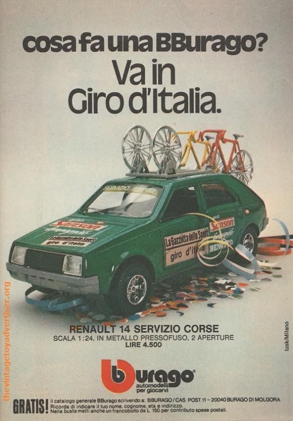 Bburago Renault 14 Topolino 1979