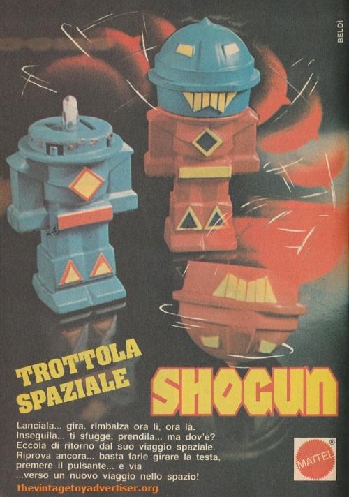 Shogun Rocket Tops Topolino 1979