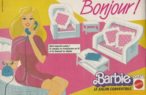 Barbie bonjour Pif Gadget 816 FR 1984