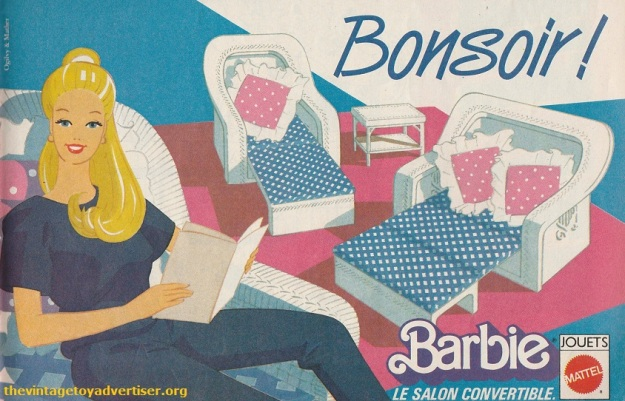Barbie Bonsoir Pif Gadget 816 FR 1984