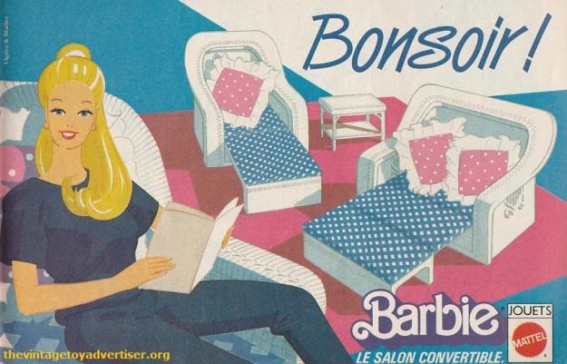 Barbie Bonsoir Pif Gadget 816 FR 1984