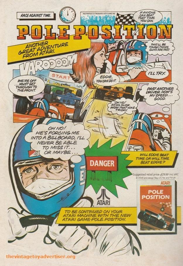 ROTJ 23 1983 Atari Pole Position