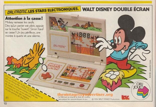 Walt Disney Orlitronic Pif Gadget 816 FR 1984