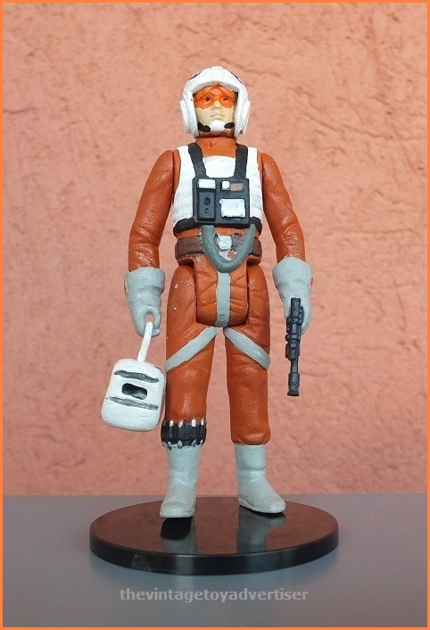 Rogue Squadron Snowspeeder gunner Dak Ralter who flew with Luke Skywalker in the Battle of Hoth. Custom figure made by Plisnithus7