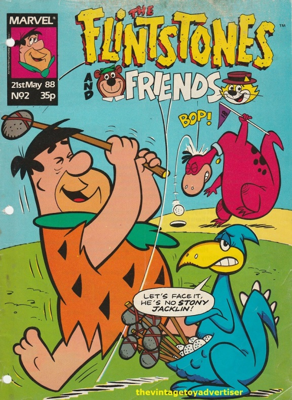 UK. Flintstones and Friends cover. 1988.