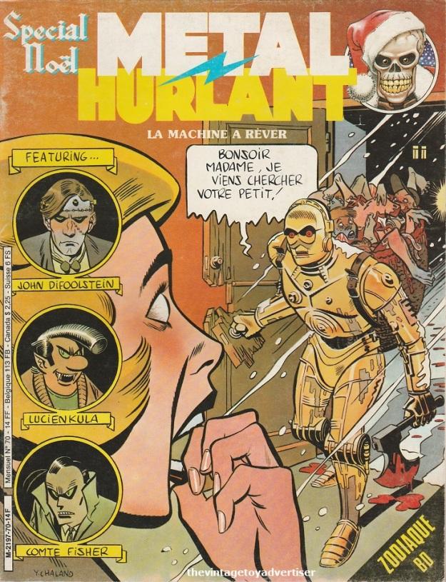France. Métal Hurlant. 1981.