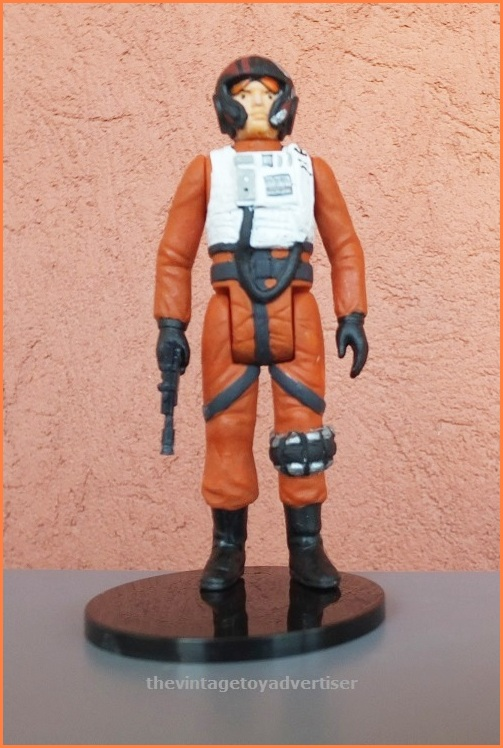 Episode VII's Poe Dameron. Custom figure made by Plisnithus7.