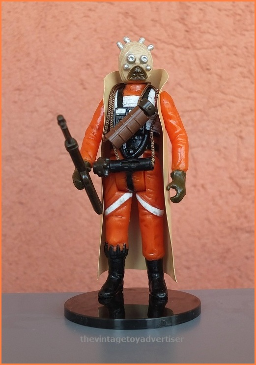 Tusken Raider X-Wing Fighter. Custom figure made by me.