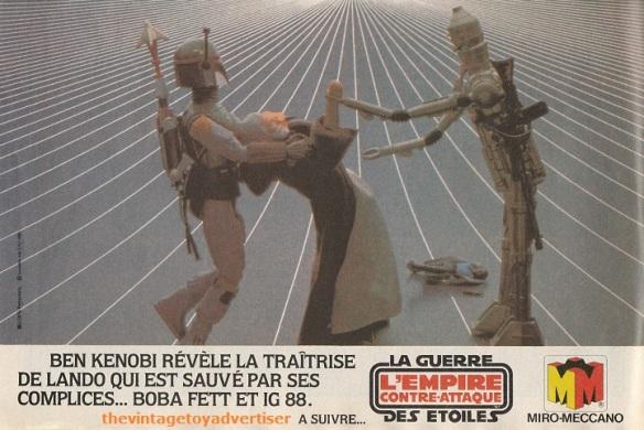 """""""Ben Kenobi reveals the traiterPif Gadget. 674. 1982."""