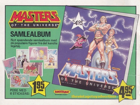 Denmark. Master of the Universe. 1987.