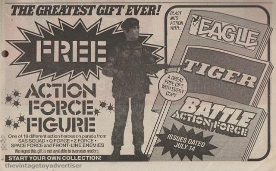 UK. Eagle. 1984.