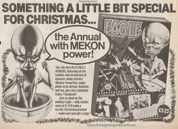 Advert for the 1983 Eagle annual. Eagle. 1982.