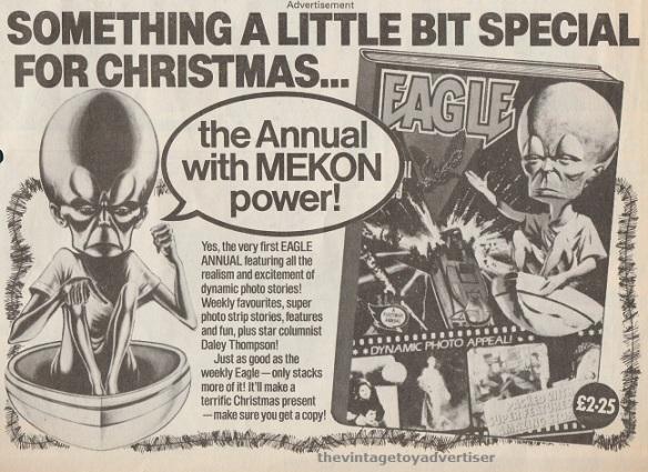 Advert for the 1983 Eagle annual. Eagle. 1982.