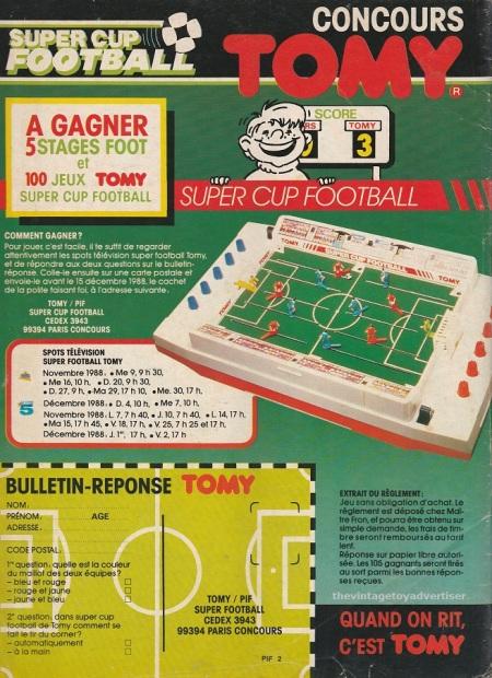 France. PIf Gadget. 1988.