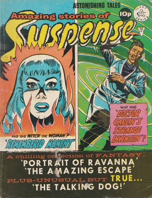 UK. Amazing Stories of Suspense N°147.