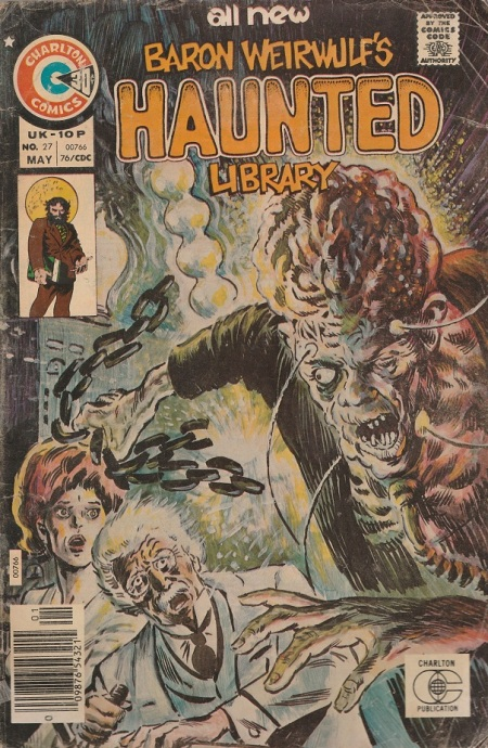 US. Charlton Comics. Baron Weirwulf's Haunted Library. 1976.