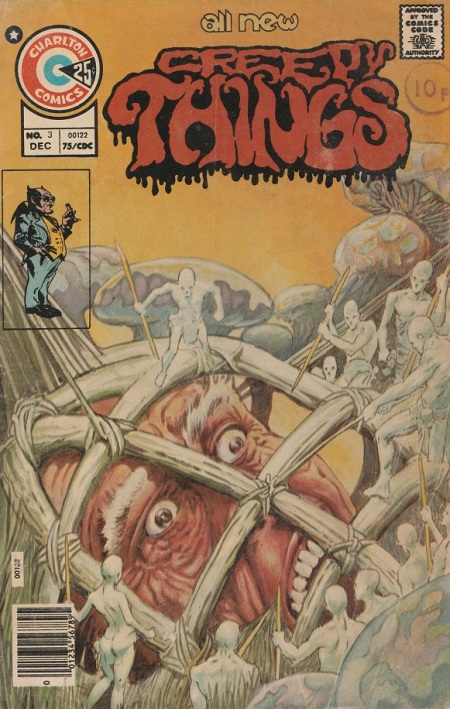 US. Charlton Comics. Creepy Things. 1975.