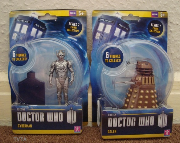 3.75 inch series Cyberman and Dalek