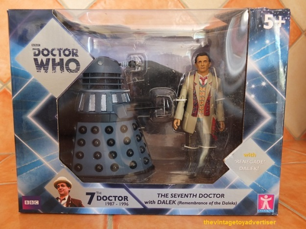 Seventh Doctor with Dalek (from Remembrance of the Daleks)