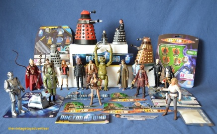 Various Character Options. Spot the Dapol and Corgi Davros.