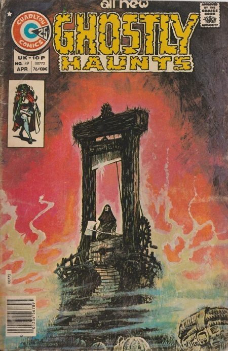 US. Charlton Comics. Ghostly Haunts. 1976.