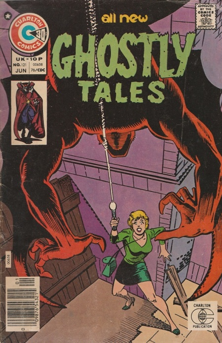 US. Charlton Comics. 1976. Cover by Steve Ditko.