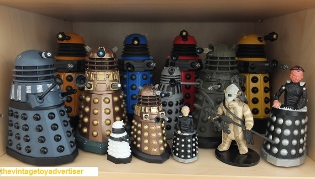 Daleks, Davroses and an Ewok