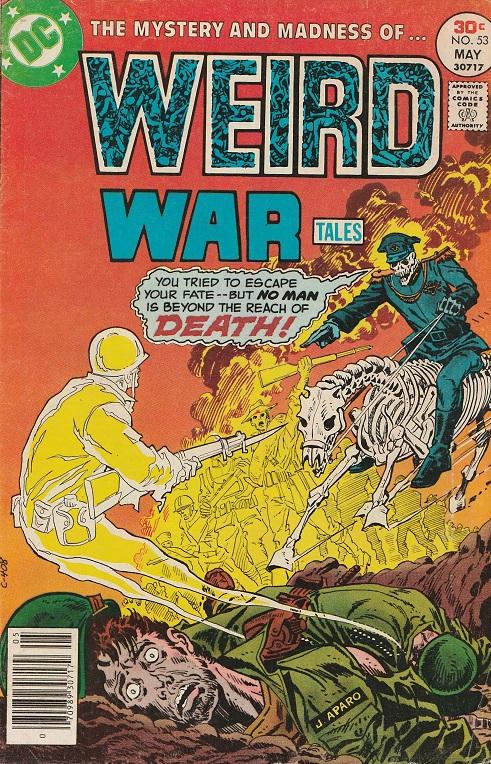Weird War Tales N° 53. 1977. Cover by Jim Apero.
