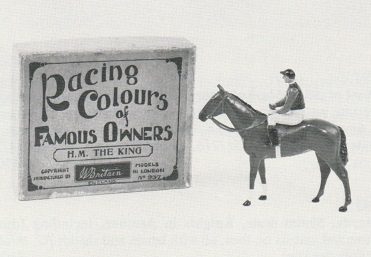 RACING COLOURS OF FAMOUS OWNERS, by Britains, UK, circa 1937.