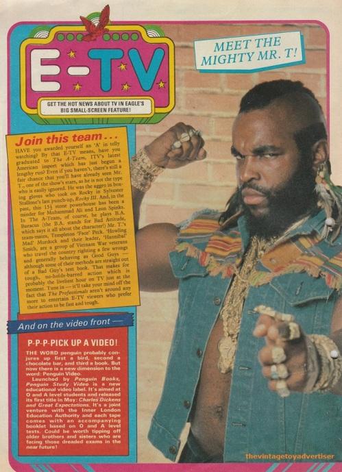UK. Eagle. 1983.