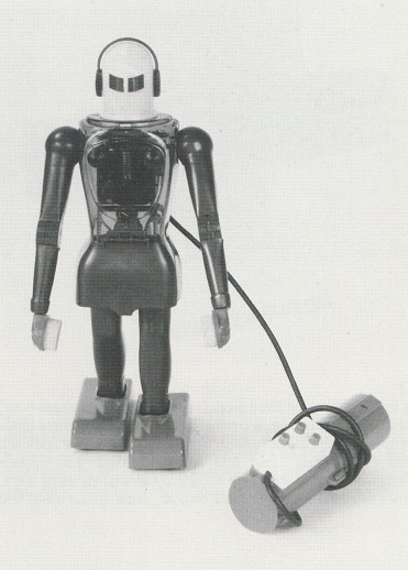 DUX-ASTROMAN, battery operated remote control robot, by Dux. W, Germany, 1950s. From Christie's South Kensington auction catalogue. 1988.