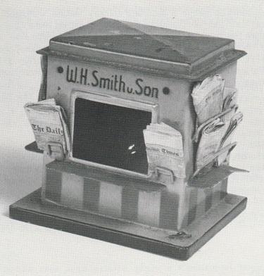 W.H. SMITH & SON kiosk. Circa 1928.