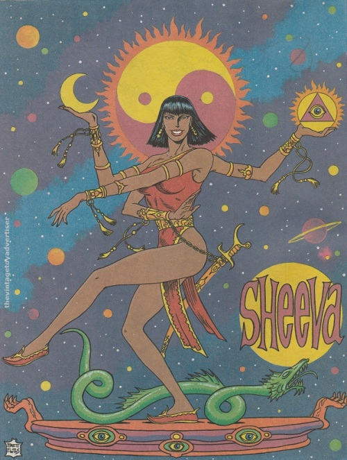 Sheeva by Brett Ewins. Prog 578. 1988.