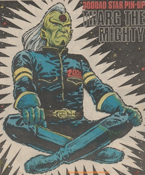 UK. 2000 AD. Tharg pin up.