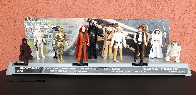 Kenner Star Wars Action Display Stand The Vintage Toy Advertiser