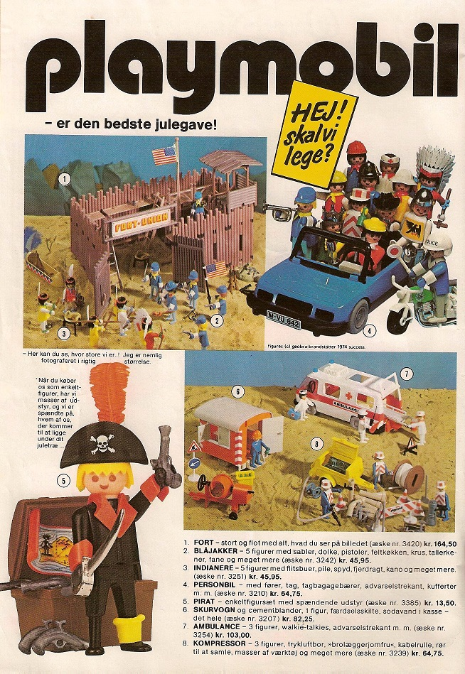 Playmobil the vintage toy advertiser for Playmobil post