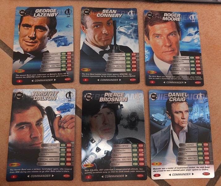 007 Commander Trading Spy Cards The Vintage Toy Advertiser