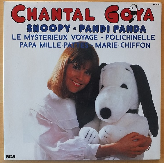 CHANTAL GOYA SNOOPY AND OTHERS