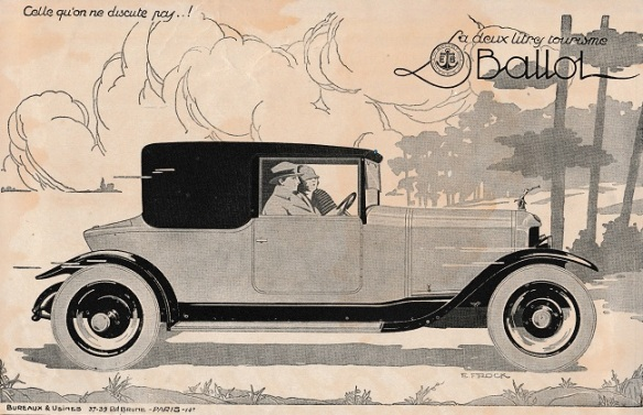 Ballot par E Frock 1925 POST