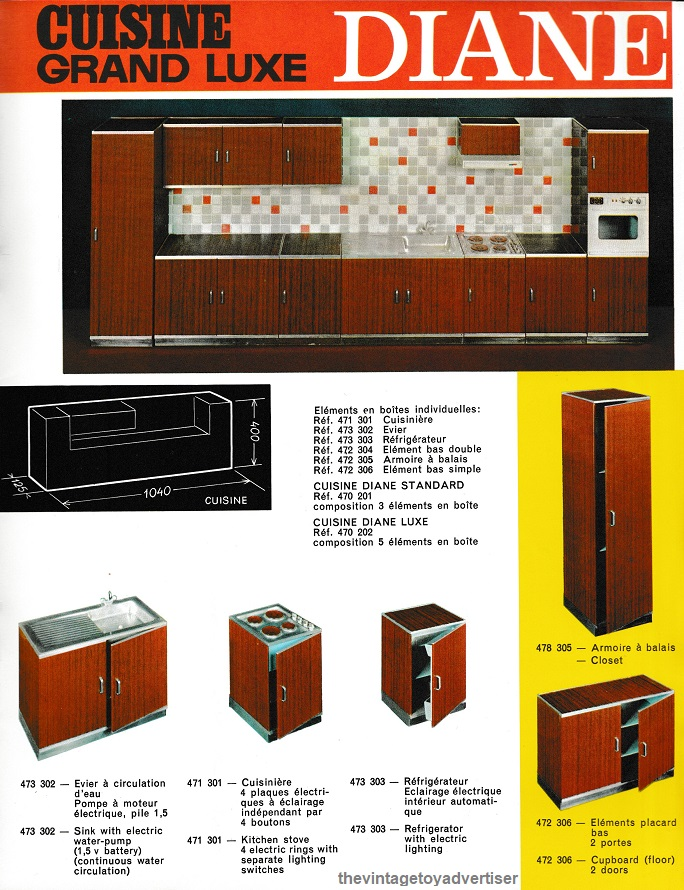 Diane Cuisine Grand Luxe Kitchen The Vintage Toy Advertiser