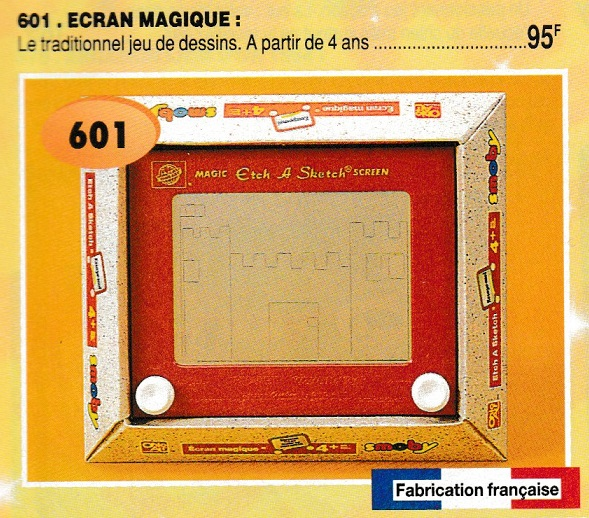 ETCH A SKETCH | The Vintage Toy Advertiser