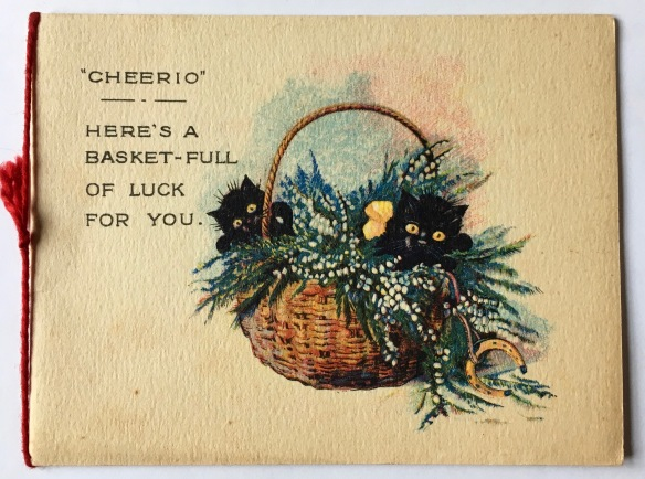 Basket full of luck - publisher unknown