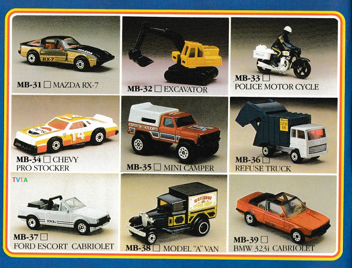 Matchbox 1986_7 Collectors' Catalogue orig d1 | The Vintage Toy