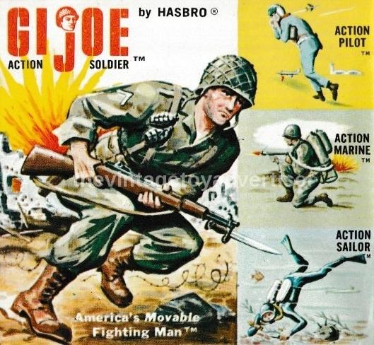 Action Man Retro Figure Action Pilot