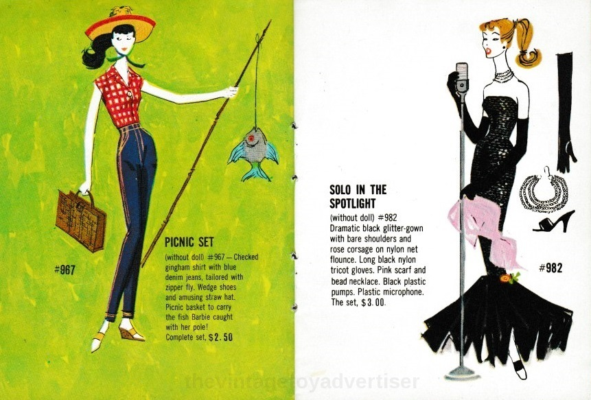 Barbie And Ken Catalogue 1962 Tvta